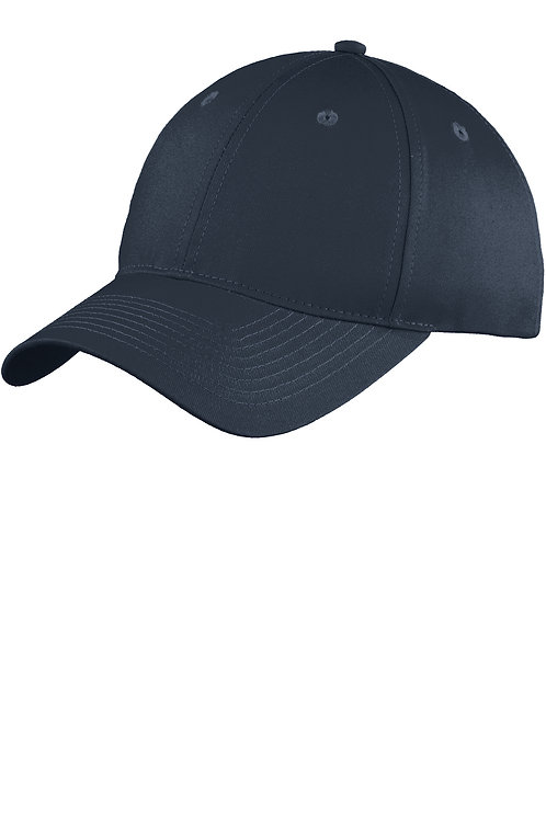 Port & Company® Six-Panel Unstructured Twill Cap