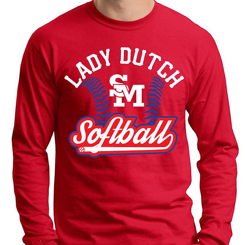 Lady Dutch Softball Long Sleeve