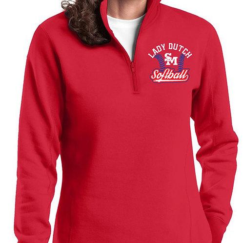 Lady Dutch Softball Ladies 1/4 Zip Jacket