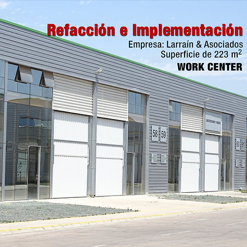 BODEGA WORK CENTER 223 M2