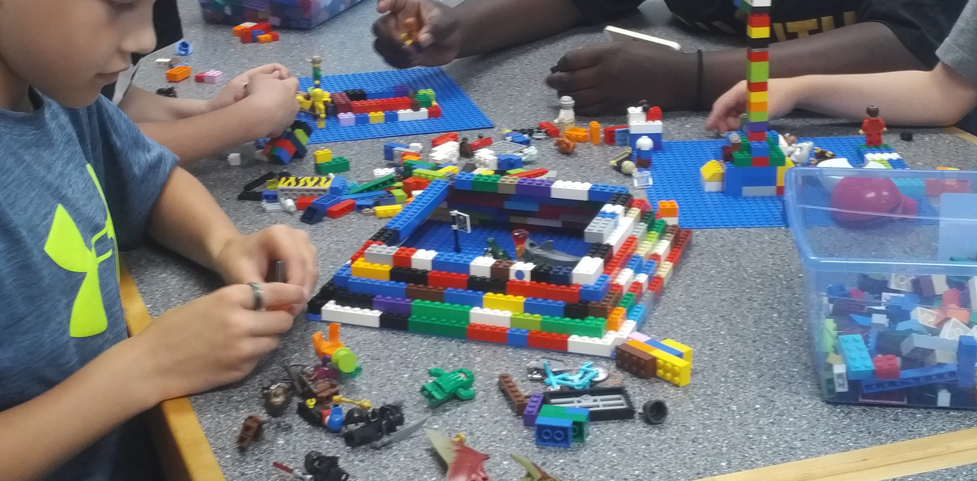 Building pyramids and towers