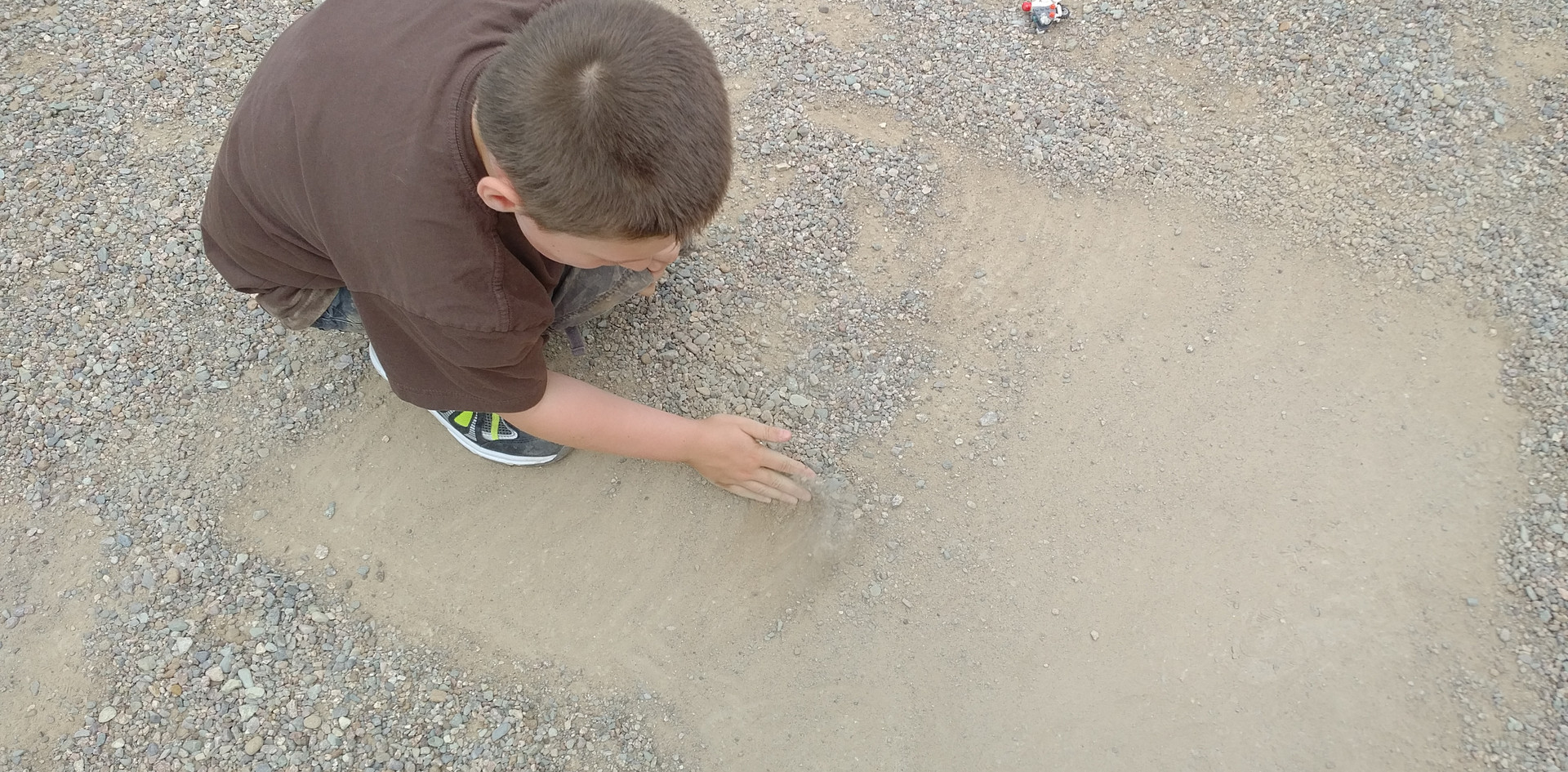 Building roads for the LEGO vehicles