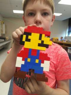 Pixel Mario lookin' good!