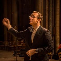 Matthieu Cabanès (ténor, chef de chœur du Festival)