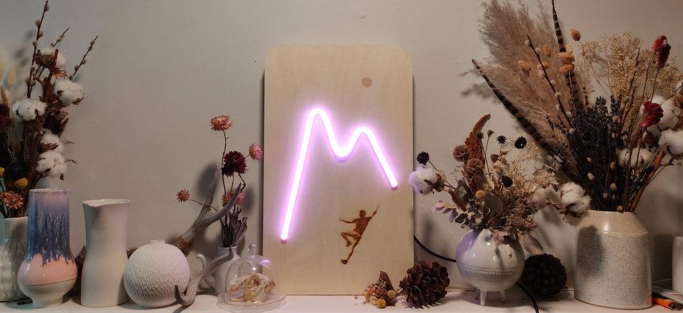 mountain neon