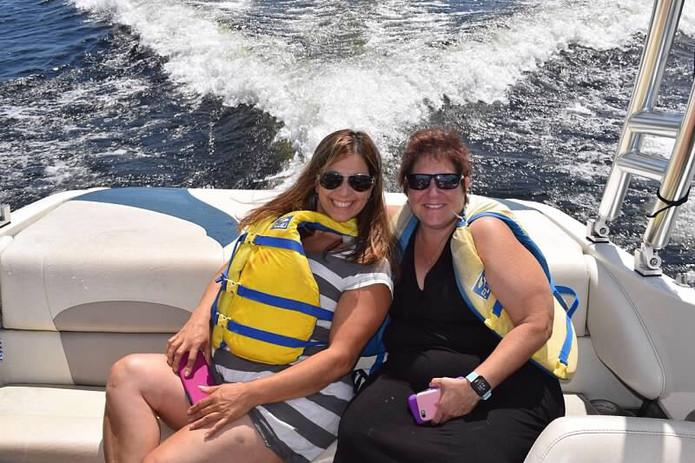 Ladies on boat.JPG