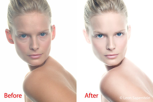 1 image Retouched with Photoshop