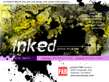 INKED: Group Art Show Opening Reception