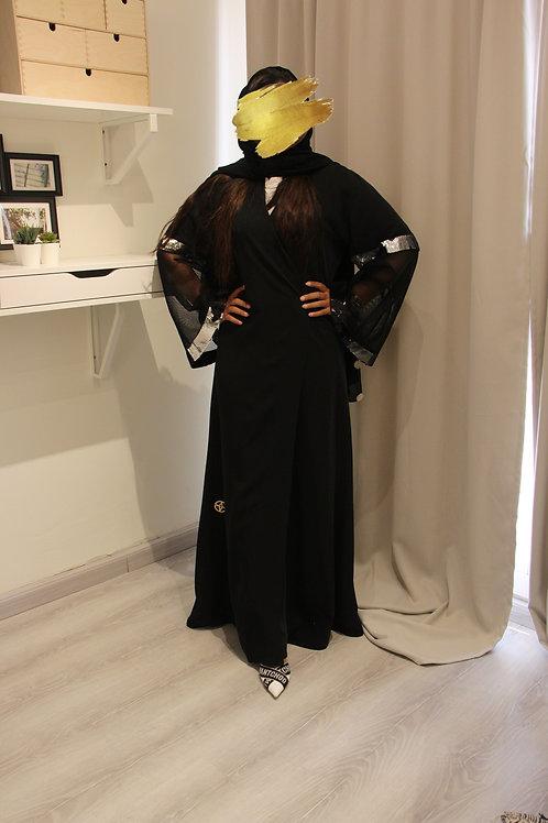 عباية بترتر في الأكمام وتصميم فريد