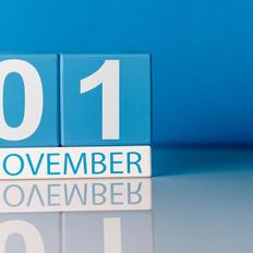 November 1st It Begins