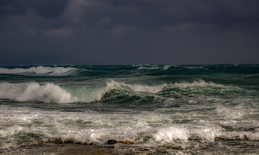 stormy sea, image by Dimitris Vetsikas, on Pixabay