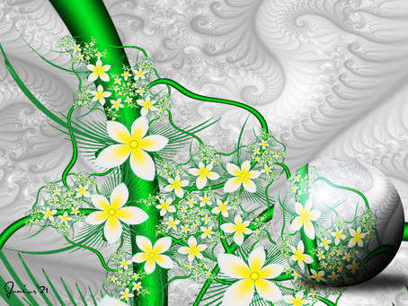 Summer Design 9, artwork by Junior McLean