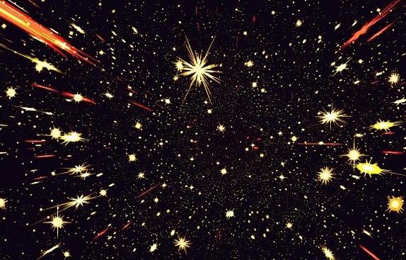 night sky, image by Gerd Altmann, on Pixabay