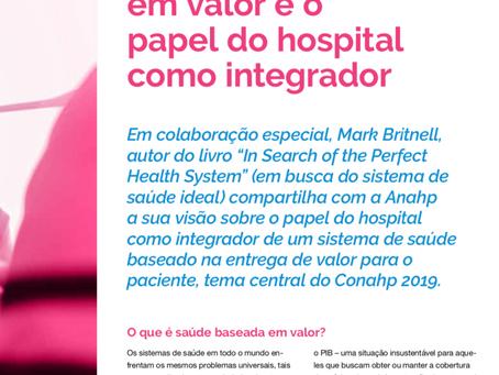 A Saúde em busca de Valor ao Paciente
