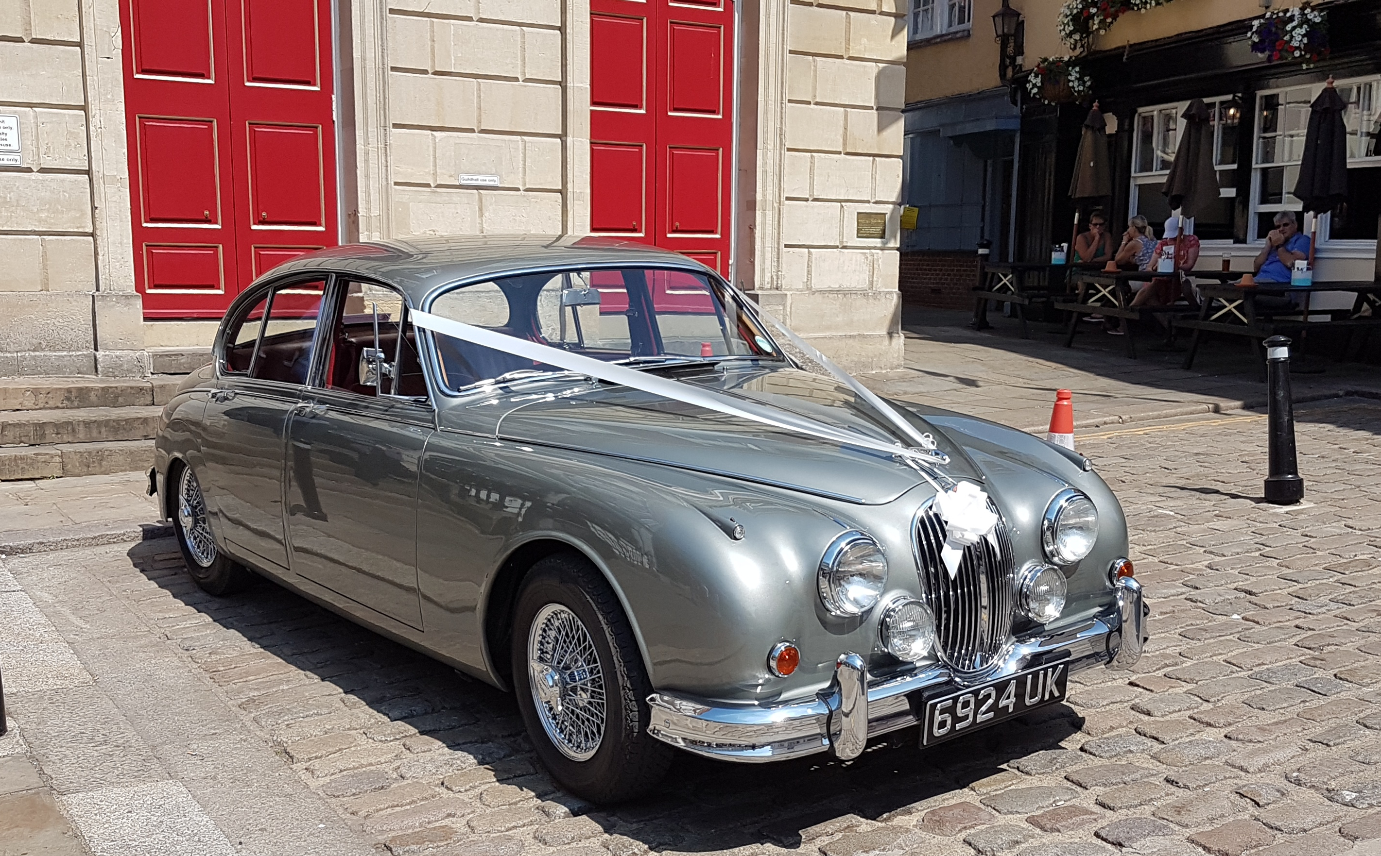 Jaguar at Windsor Guildhall