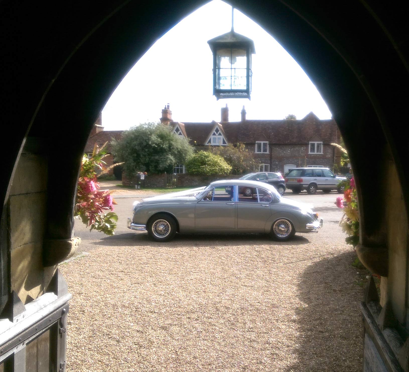 Jaguar at Hambledon