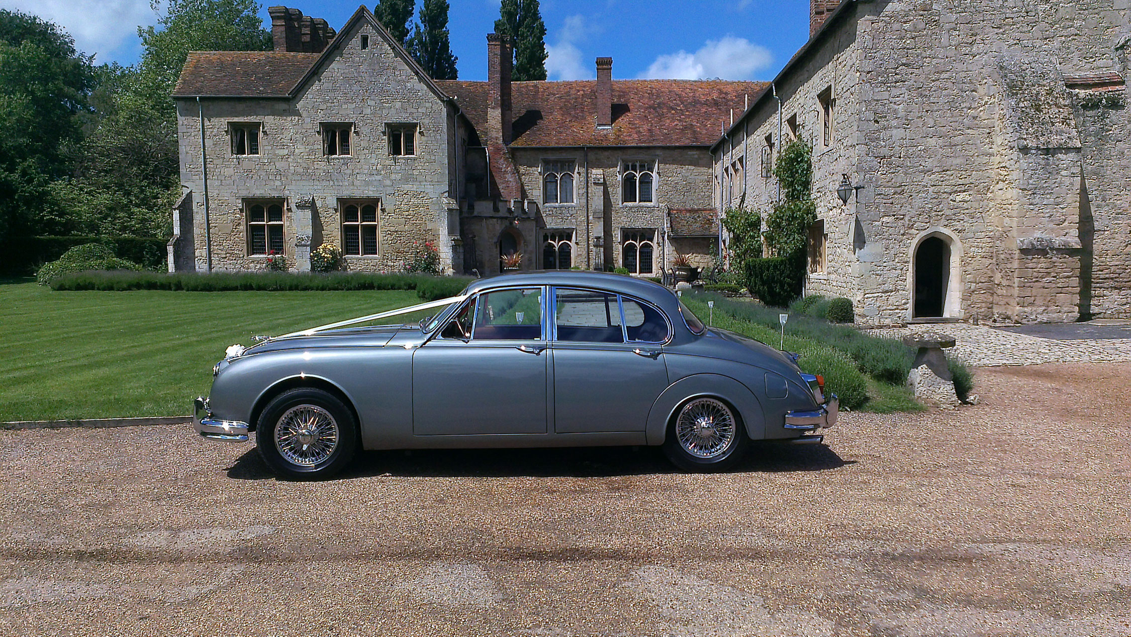 Notley Abbey Wedding Car