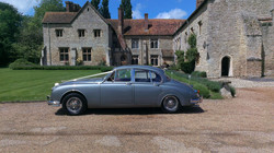 Jaguar Mk2 at Notley Abbey
