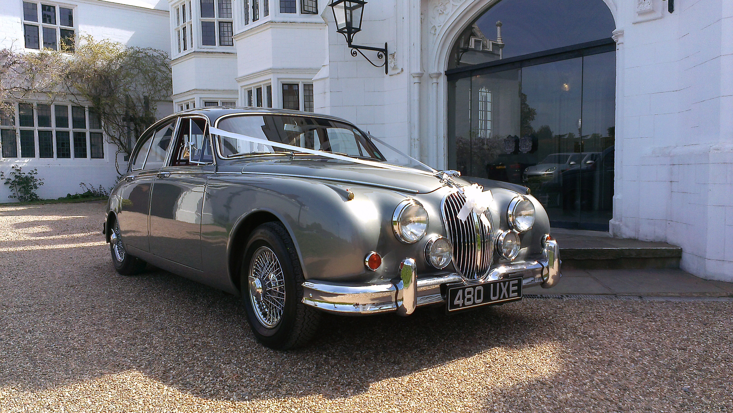 Jag at Danesfield House
