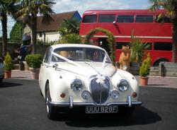Daimler at the Crazy Bear