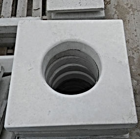 Precast, Catch Basin Ring, Catch Basin Lid, Patio Block, Chimney Caps, V-interlock block, block, large concrete block, large block