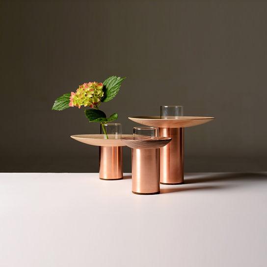 design vase cooper plant