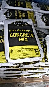 Sakrete, Mortor Mix, Brixment, Bags, Portland, Lime, Calcium Chloride