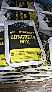 Sakrete, Concrete Mix, 80lb Concrete Mix