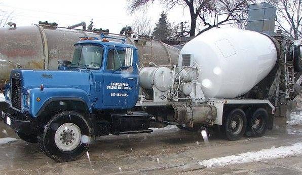 Franklin Park Building Material | Ready Mix Truck | Concrete Truck