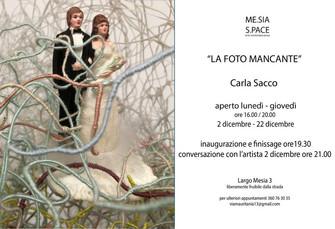 LA FOTO MANCANTE Carla Sacco
