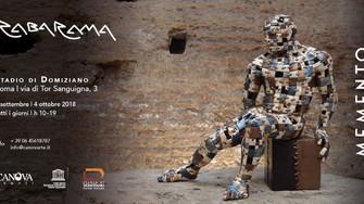 """Rabarama: la mostra """"Memento"""" allo Stadio di Domiziano"""