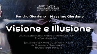 """""""Visione e illusione"""" di Sandro e Massimo Giordano"""