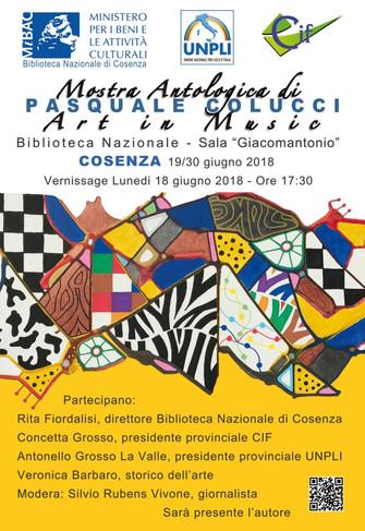 Art in music Mostra antologica di Pasquale Colucci