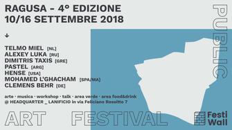 Ragusa FestiWall 2018 Public Art Festival
