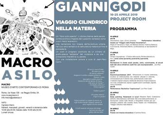 Viaggio cilindrico nella materia - Gianni Godi