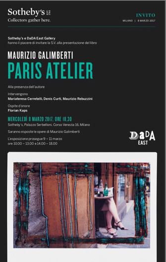 Paris Atelier by Maurizio Galimberti