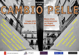 Cambio pelle - workshop d'arte