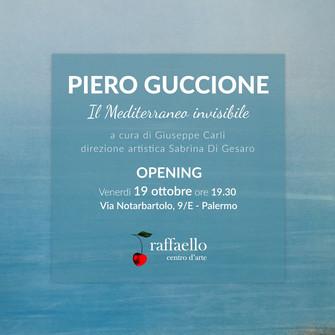 """""""Il Mediterraneo Invisibile"""" Piero Guccione"""