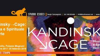 Dall'astrattismo spirituale di Wassily Kandinsky al silenzio illuminato di John Cageun affascinante