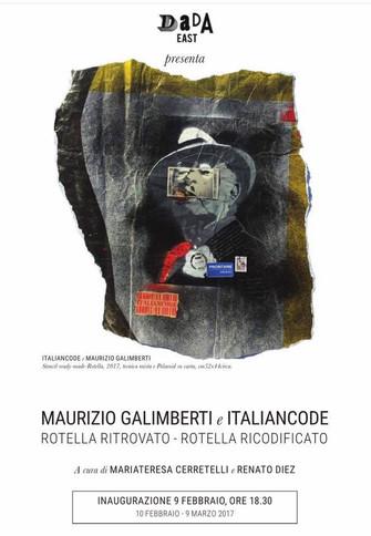 Rotella Ritrovato - Rotella Ricodificato/Maurizio Galimberti e Italiancode