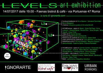 LEVELS ART EXHIBITION - 3rd edition (AL CUBO)