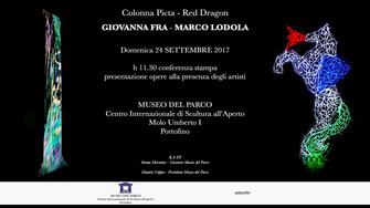 GIOVANNA FRA e MARCO LODOLA al MUSEO DEL PARCO di PORTOFINO - Domenica 24 Settembre 2017