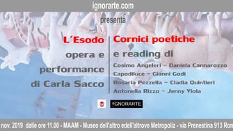 L'Esodo + Cornici poetiche