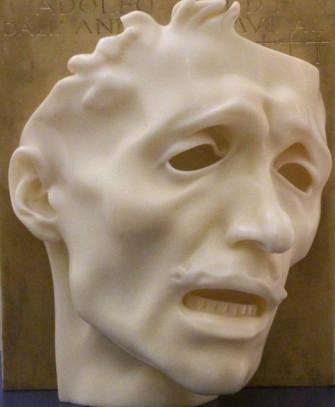 On top - Adolfo Wildt - La Maschera del dolore (autoritratto)