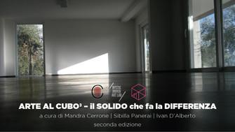 Arte al CUBO³ - il solido che fa la differenza seconda edizione