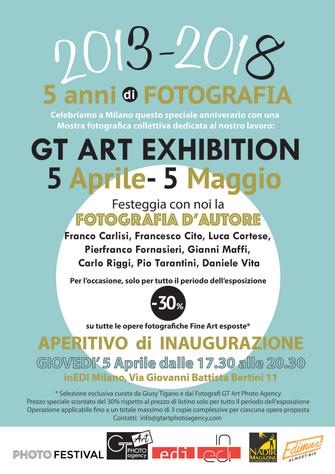 """""""GT ART EXHIBITION 2018: 5 ANNI di FOTOGRAFIA"""""""
