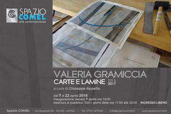 Valeria Gramiccia Carte e Lamine 2016 – 2017
