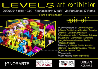 LEVELS art exhibition  - spin off