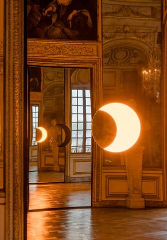On top - Olafur Eliasson - Deep mirror (Versailles)