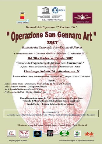 OPERAZIONE SAN GENNARO ART 2017